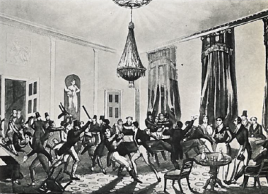 A-typical-gambling-hell-of-teh-Regency-period-a-place-of-violence-and-vice-500x363