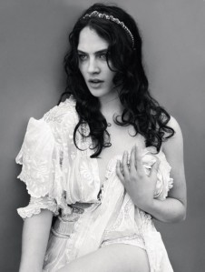 Lady Sybil (Jessica Brown-Findlay) as photographed by Mert and Marcus for Love #8, Autumn/Winter 2012, via The English Group