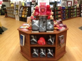 GMU Bookstore 50 Shades Display Feb 2013