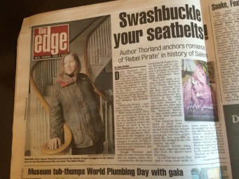 Boston Herald Centerfold